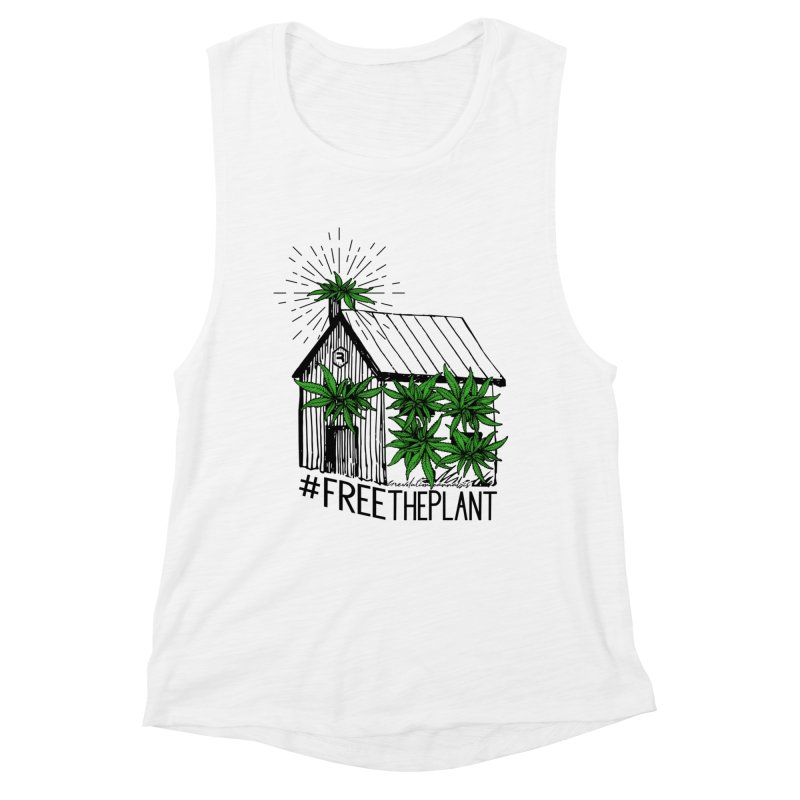 #FreeThePlant Women's Tank by RevolutionTradingCo