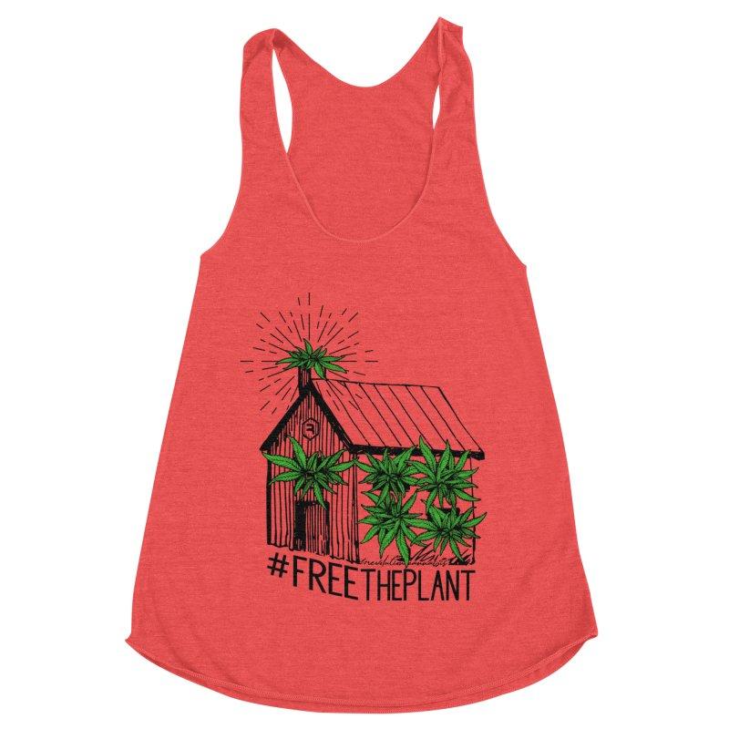 #FreeThePlant Women's Tank by RevolutionTradingCo