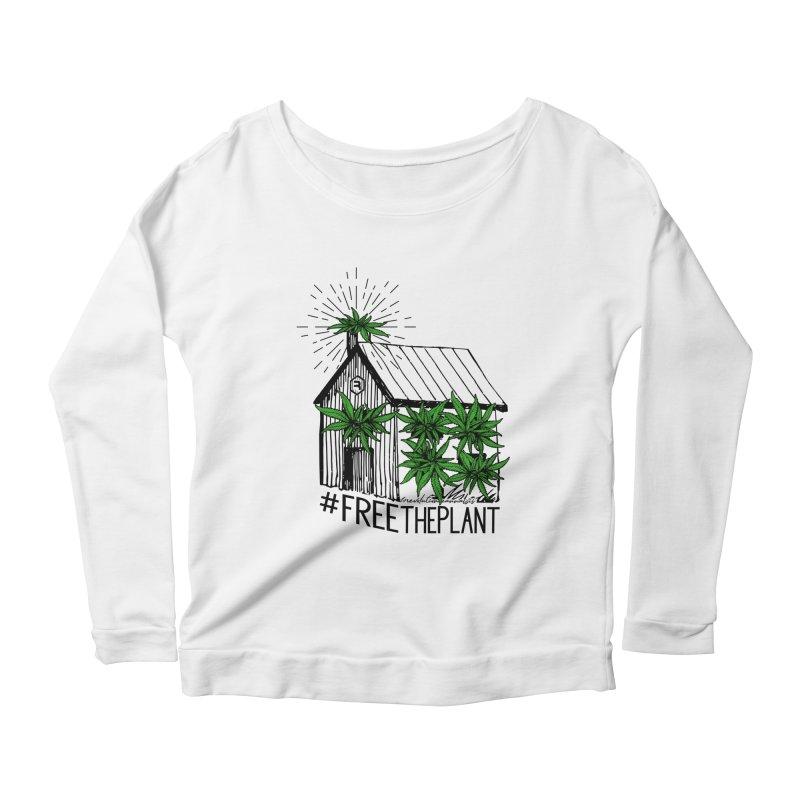 #FreeThePlant Women's Scoop Neck Longsleeve T-Shirt by RevolutionTradingCo