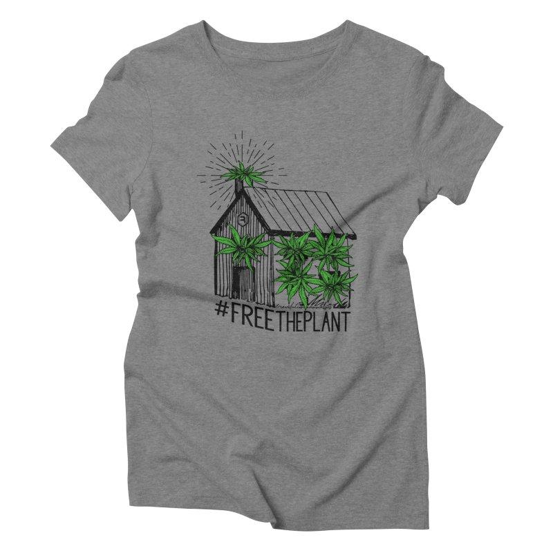 #FreeThePlant Women's Triblend T-Shirt by RevolutionTradingCo