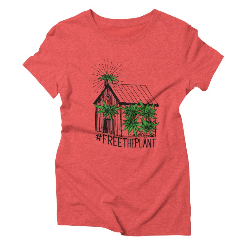 #FreeThePlant Women's Triblend T-Shirt by RevolutionTradingCo