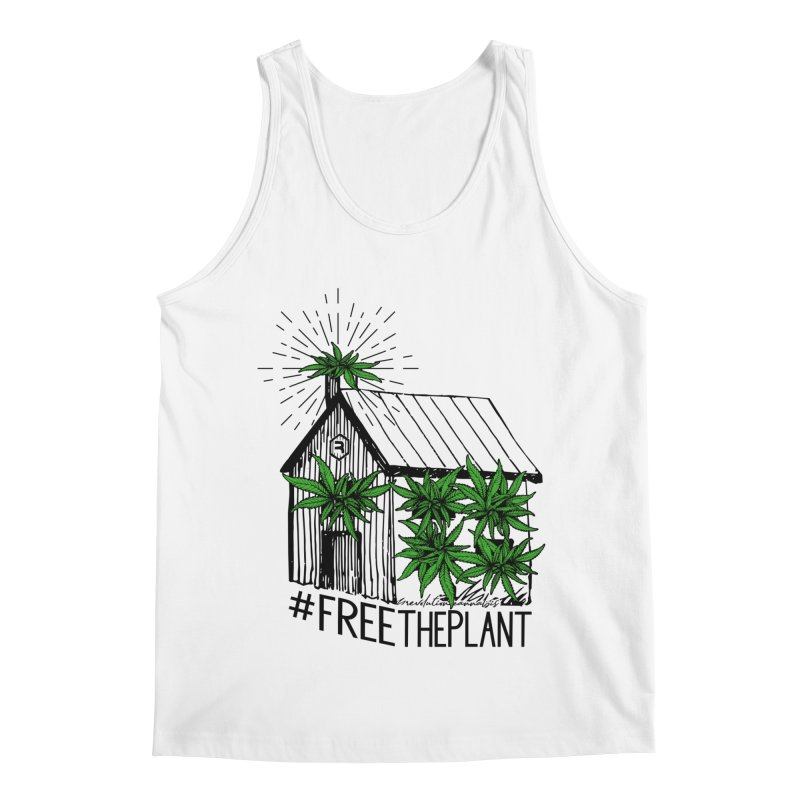 #FreeThePlant Men's Regular Tank by RevolutionTradingCo
