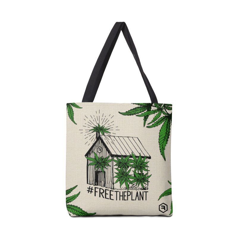 #FreeThePlant Accessories Tote Bag Bag by RevolutionTradingCo