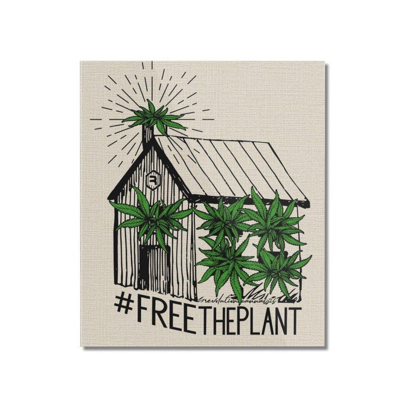 #FreeThePlant Home Mounted Acrylic Print by RevolutionTradingCo