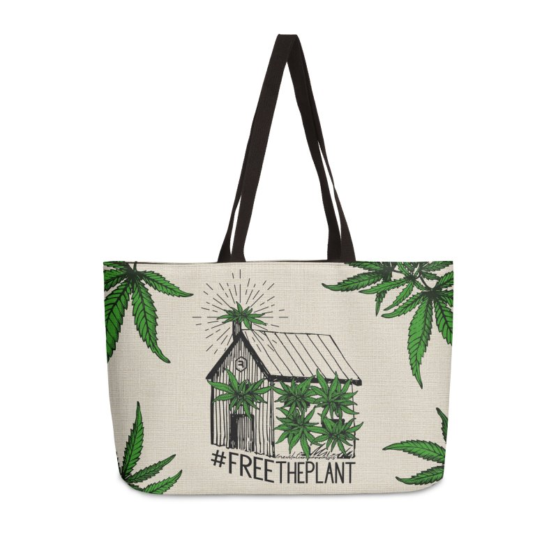#FreeThePlant Accessories Bag by RevolutionTradingCo