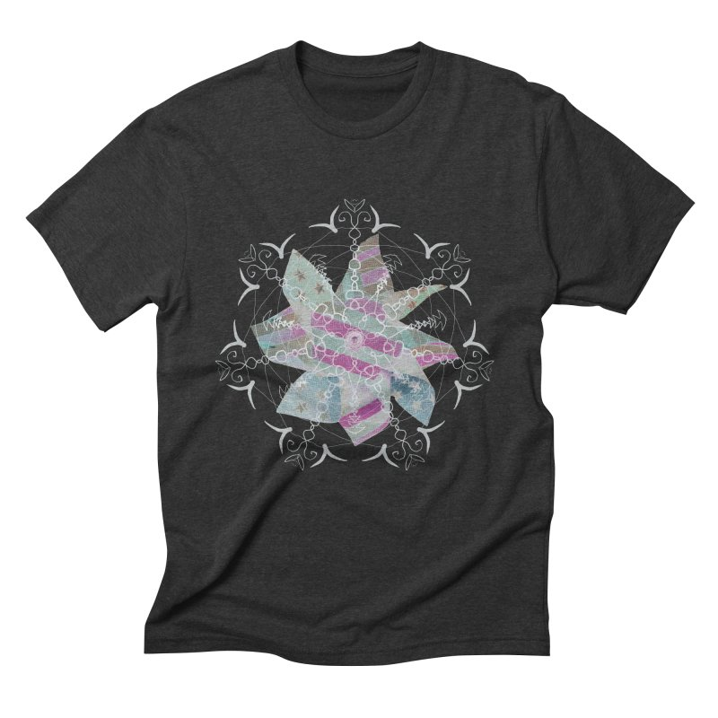 Pinwheel :) Men's Triblend T-Shirt by Rhinb's Artist Shop