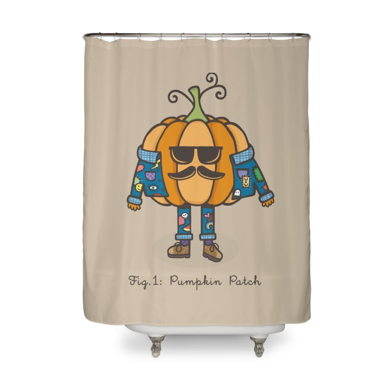 PUMPKIN PATCH Home Shower Curtain by RiLi's Artist Shop