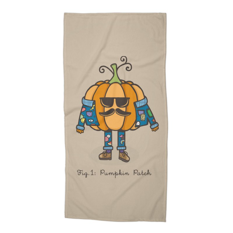 PUMPKIN PATCH Accessories Beach Towel by RiLi's Artist Shop
