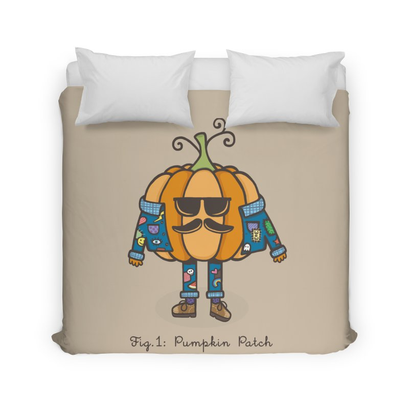 PUMPKIN PATCH Home Duvet by RiLi's Artist Shop