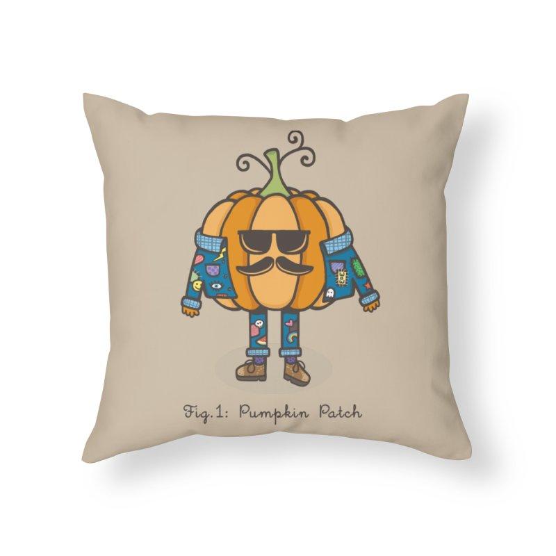 PUMPKIN PATCH Home Throw Pillow by RiLi's Artist Shop