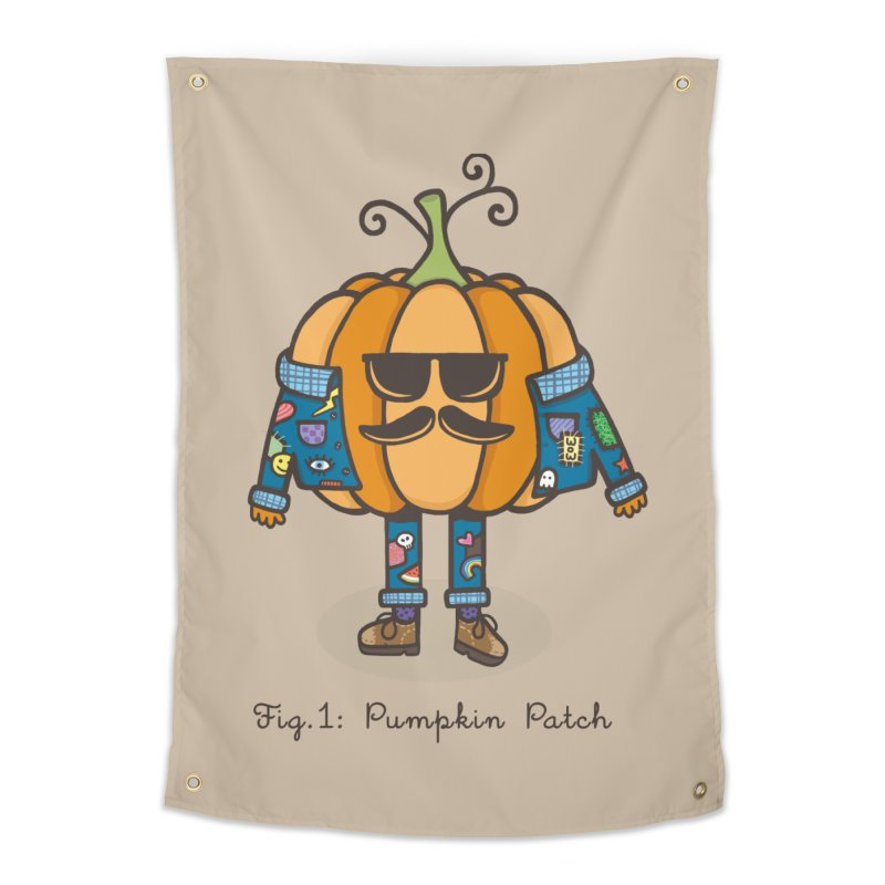 PUMPKIN PATCH Home Tapestry by RiLi's Artist Shop