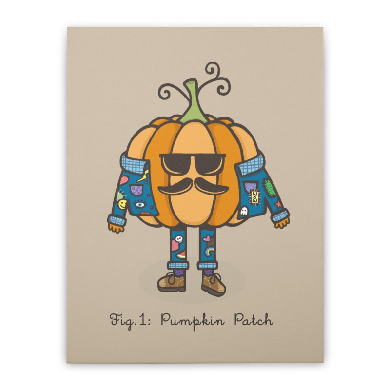 PUMPKIN PATCH Home Stretched Canvas by RiLi's Artist Shop