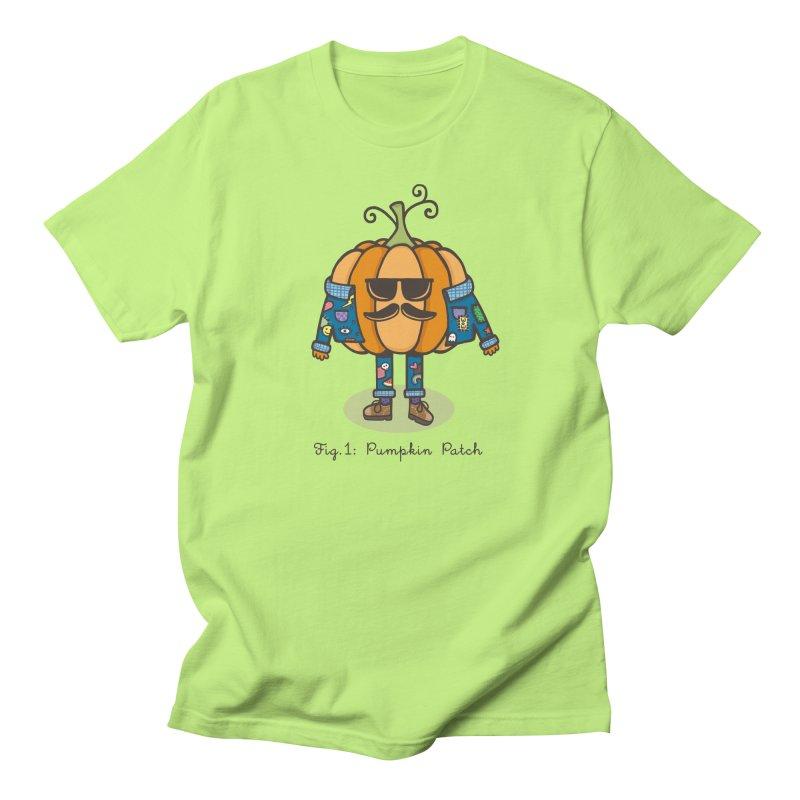 PUMPKIN PATCH Men's T-shirt by RiLi's Artist Shop