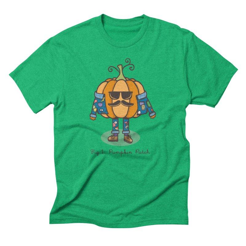 PUMPKIN PATCH Men's Triblend T-shirt by RiLi's Artist Shop
