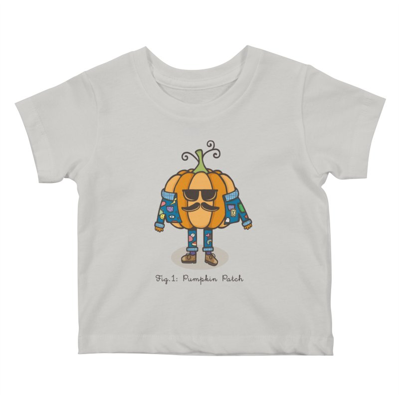 PUMPKIN PATCH Kids Baby T-Shirt by RiLi's Artist Shop