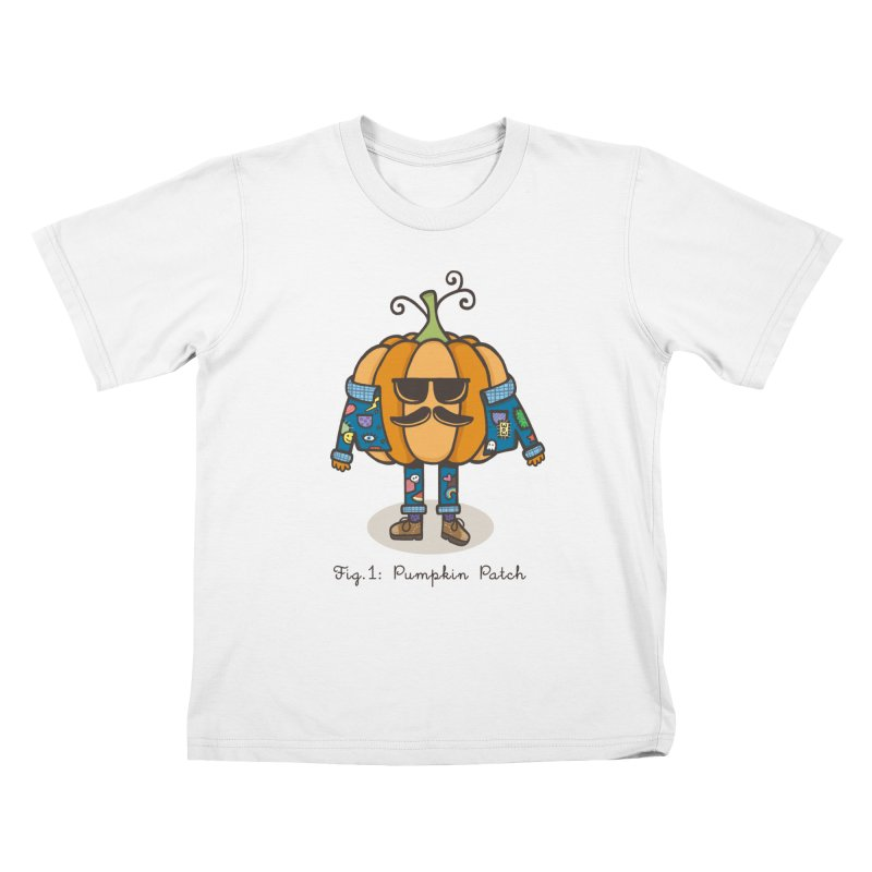 PUMPKIN PATCH Kids Toddler T-Shirt by RiLi's Artist Shop