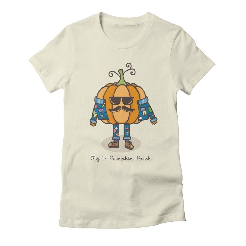 PUMPKIN PATCH Women's Fitted T-Shirt by RiLi's Artist Shop