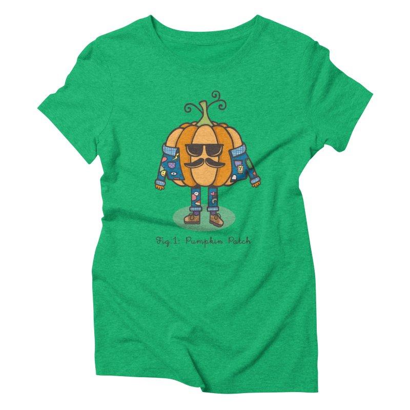 PUMPKIN PATCH Women's Triblend T-shirt by RiLi's Artist Shop