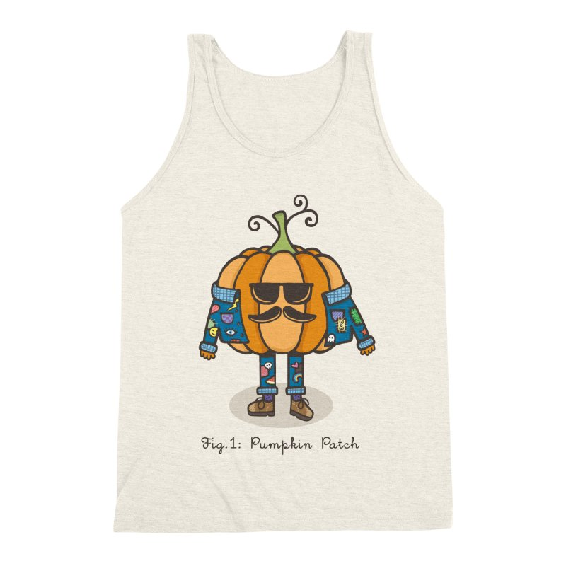 PUMPKIN PATCH Men's Triblend Tank by RiLi's Artist Shop