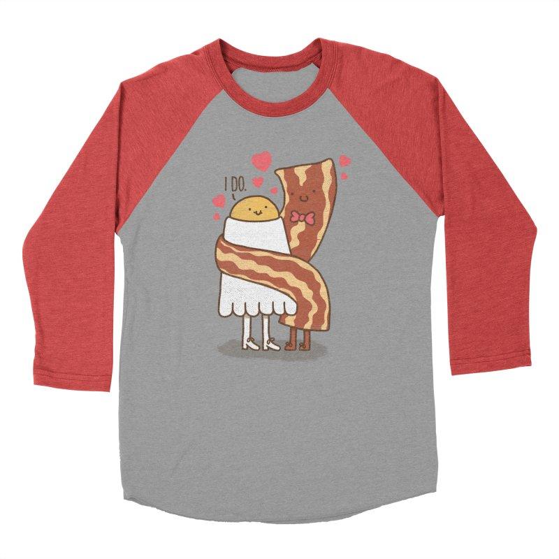 TILL LUNCH DO US PART Women's Baseball Triblend T-Shirt by RiLi's Artist Shop