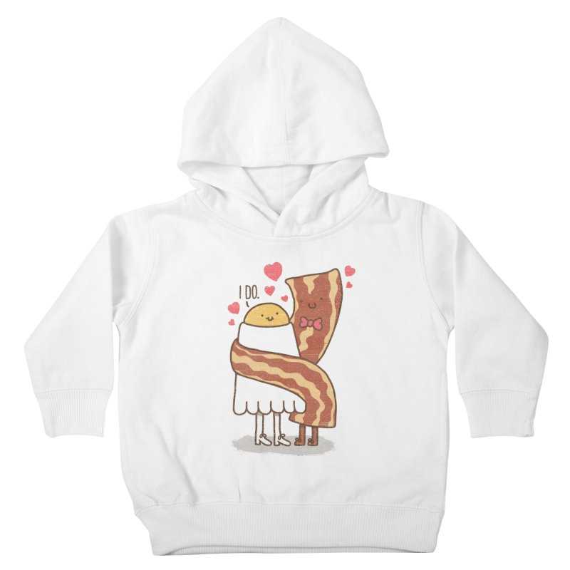 TILL LUNCH DO US PART Kids Toddler Pullover Hoody by RiLi's Artist Shop
