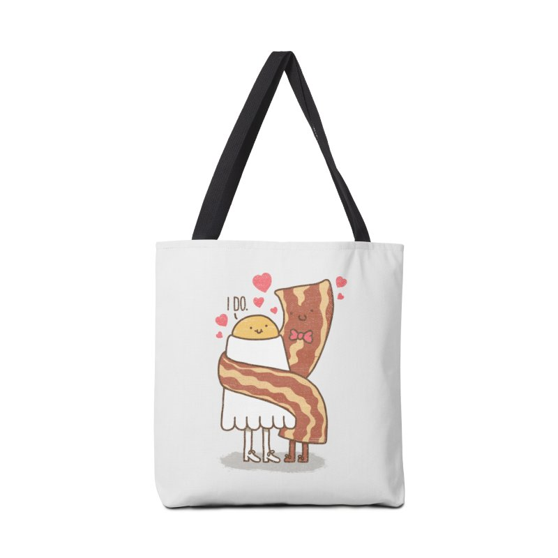 TILL LUNCH DO US PART Accessories Bag by RiLi's Artist Shop