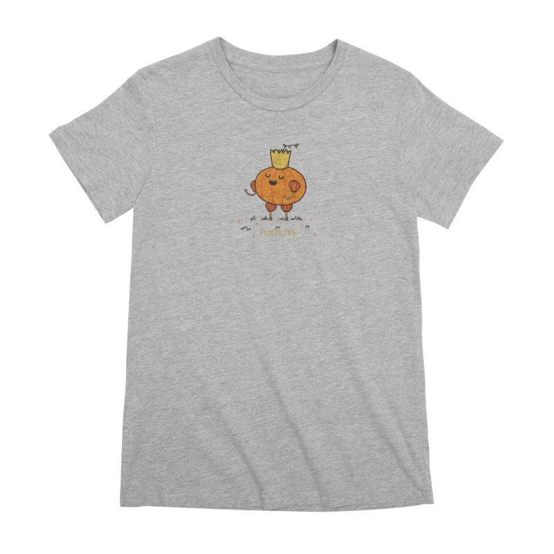 PUMPKING Women's Premium T-Shirt by RiLi's Artist Shop