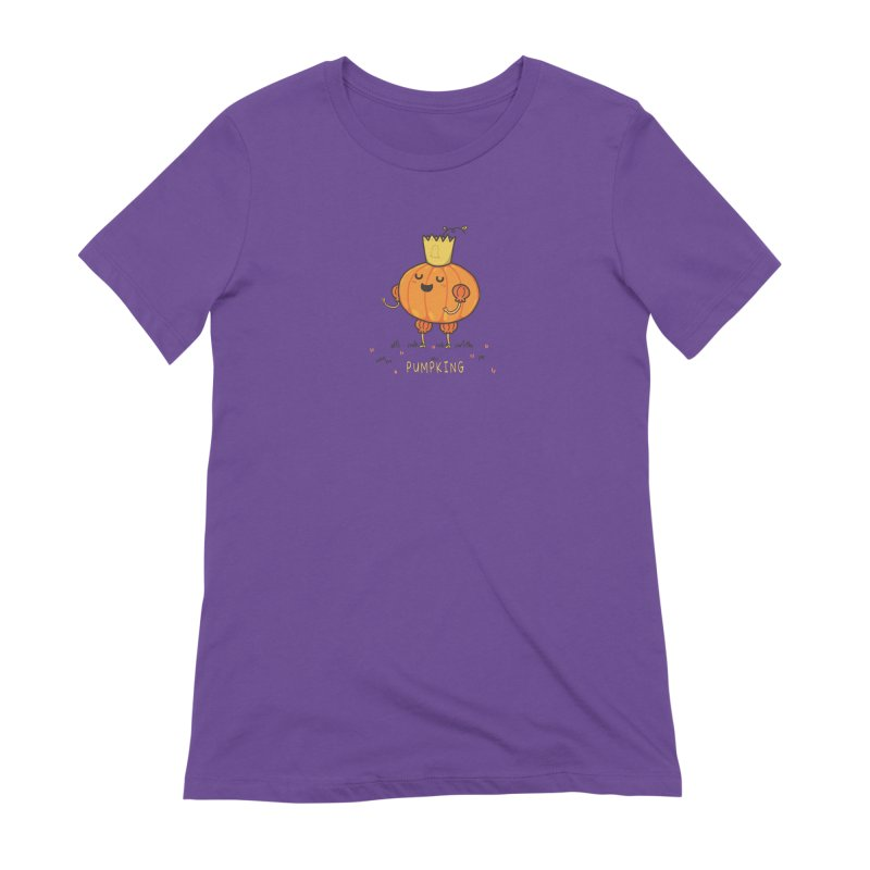 PUMPKING Women's Extra Soft T-Shirt by RiLi's Artist Shop