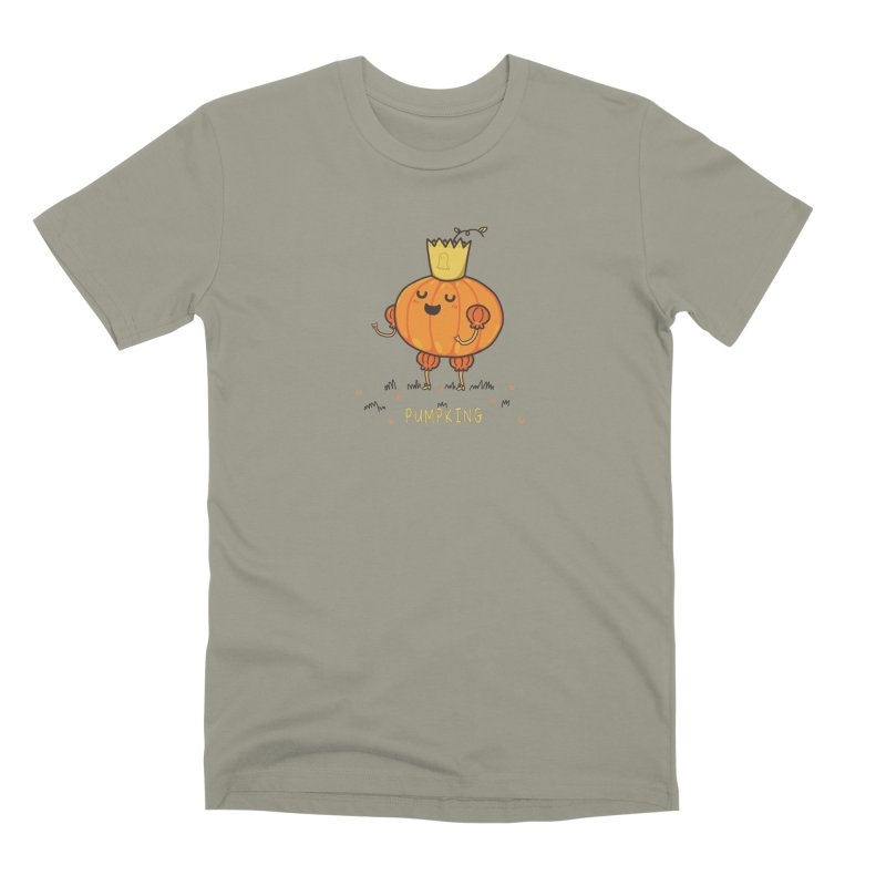 PUMPKING Men's Premium T-Shirt by RiLi's Artist Shop