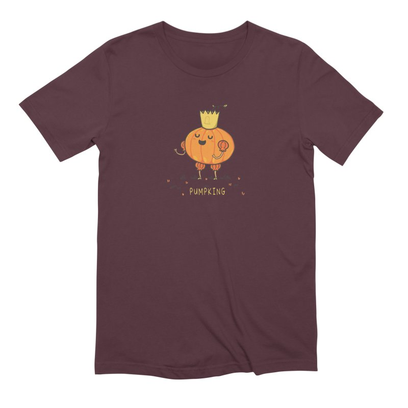 PUMPKING Men's Extra Soft T-Shirt by RiLi's Artist Shop
