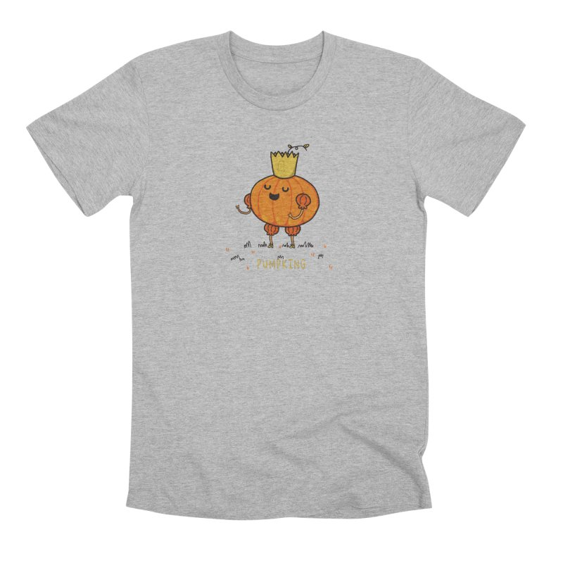 PUMPKING Men's T-Shirt by RiLi's Artist Shop