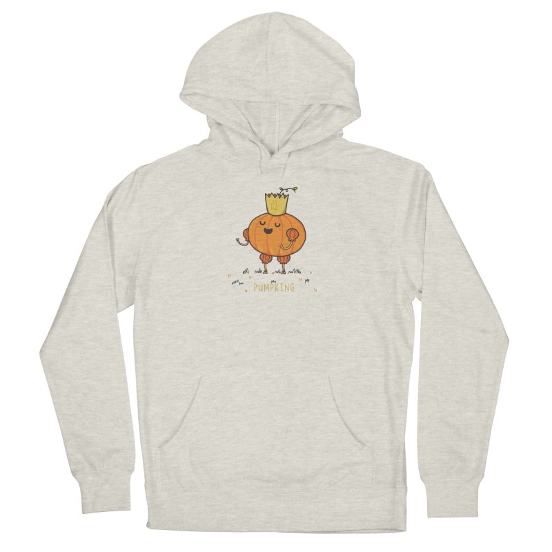 PUMPKING Women's French Terry Pullover Hoody by RiLi's Artist Shop