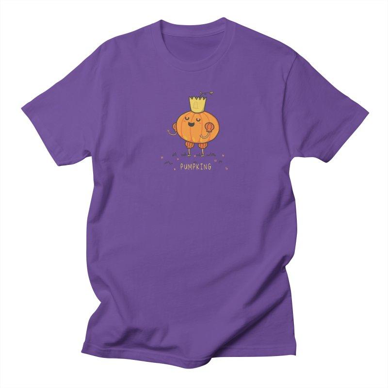 PUMPKING Women's Regular Unisex T-Shirt by RiLi's Artist Shop