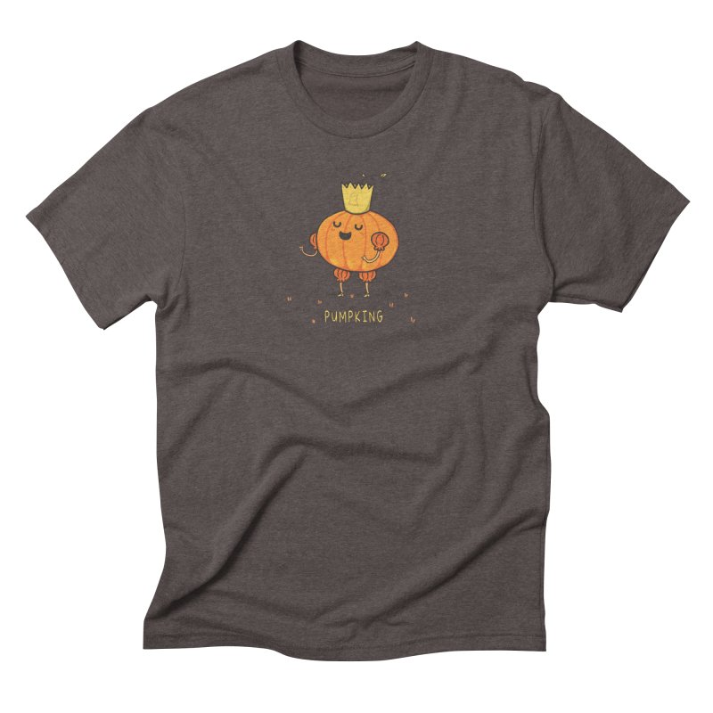 PUMPKING Men's Triblend T-Shirt by RiLi's Artist Shop