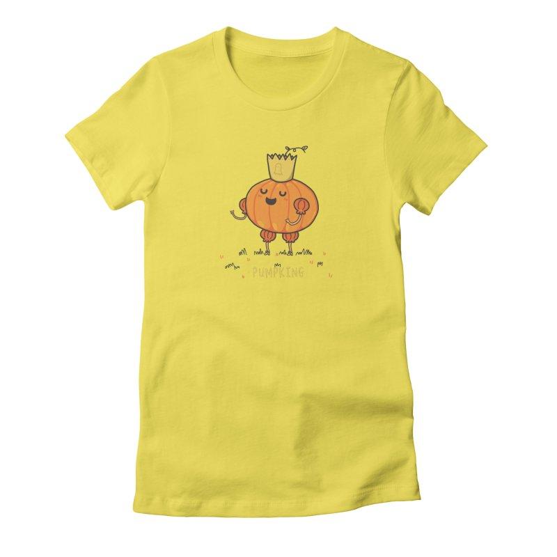 PUMPKING Women's T-Shirt by RiLi's Artist Shop