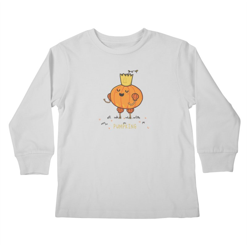 PUMPKING Kids Longsleeve T-Shirt by RiLi's Artist Shop