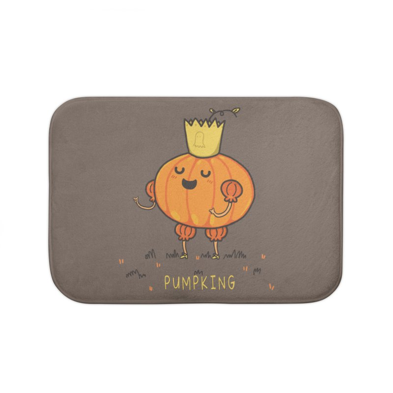 PUMPKING Home Bath Mat by RiLi's Artist Shop