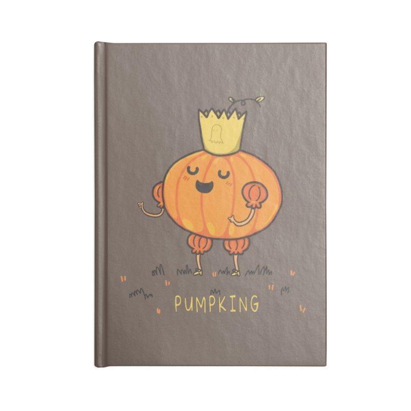 PUMPKING Accessories Blank Journal Notebook by RiLi's Artist Shop