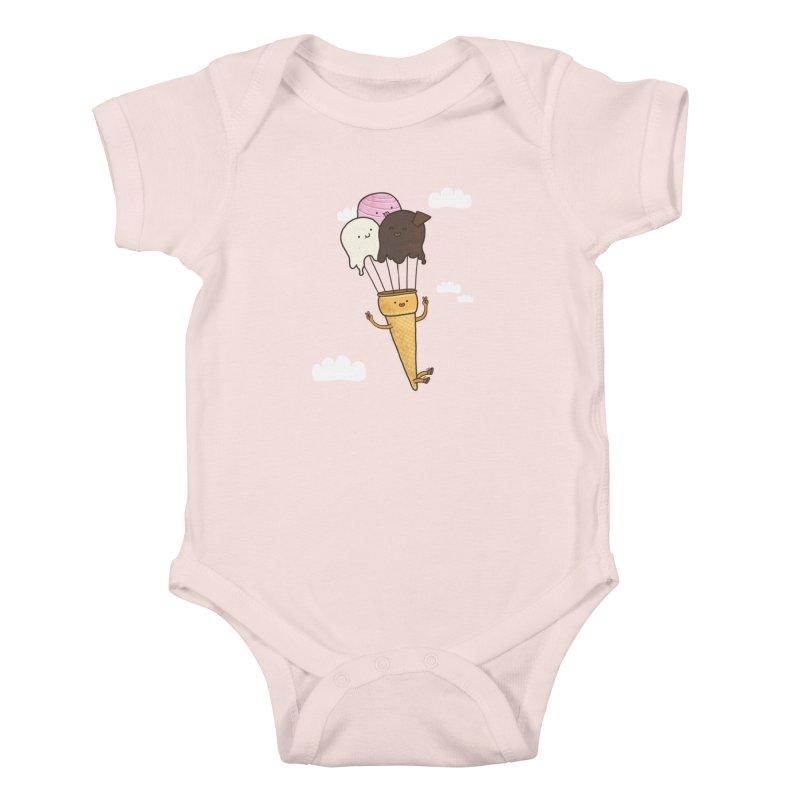 PARACUTE Kids Baby Bodysuit by RiLi's Artist Shop
