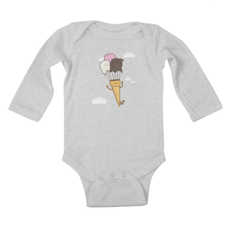 PARACUTE Kids Baby Longsleeve Bodysuit by RiLi's Artist Shop