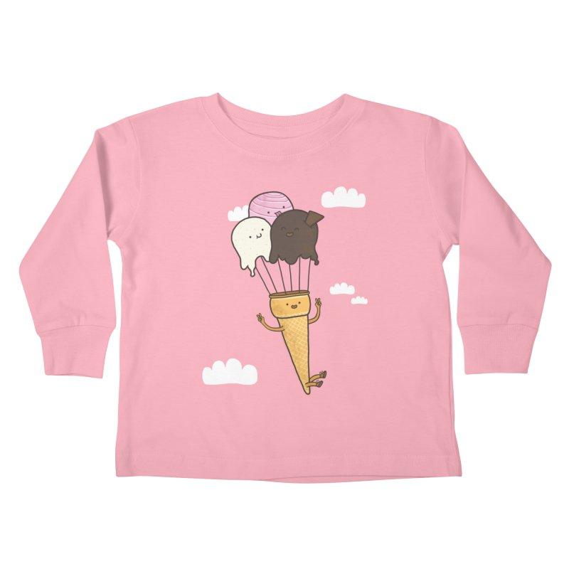 PARACUTE Kids Toddler Longsleeve T-Shirt by RiLi's Artist Shop