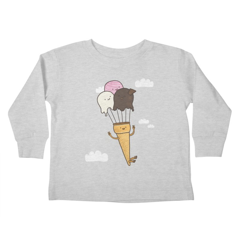 PARACUTE Kids Toddler Longsleeve T-Shirt by RiLi's Artist Shop