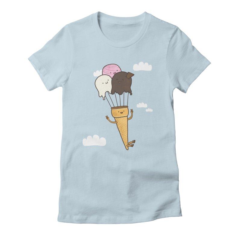 PARACUTE Women's Fitted T-Shirt by RiLi's Artist Shop
