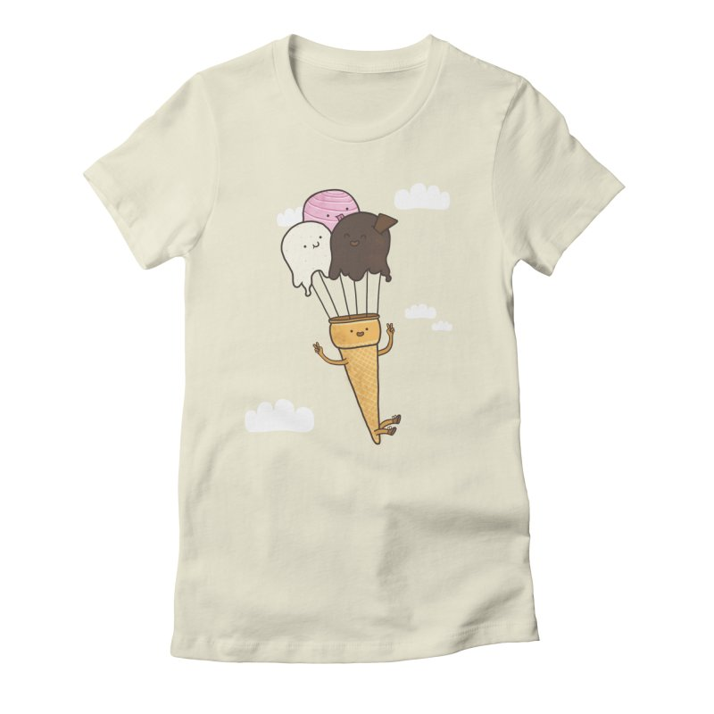 PARACUTE Women's Fitted T-Shirt by RiLi's Artist Shop