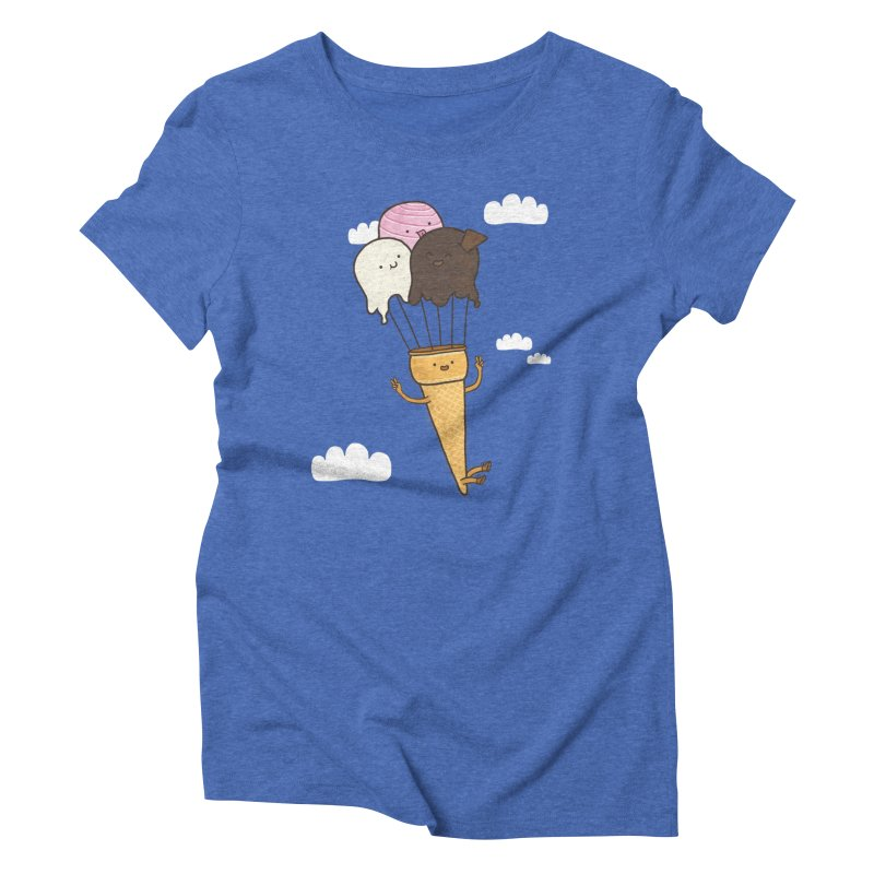 PARACUTE Women's Triblend T-Shirt by RiLi's Artist Shop