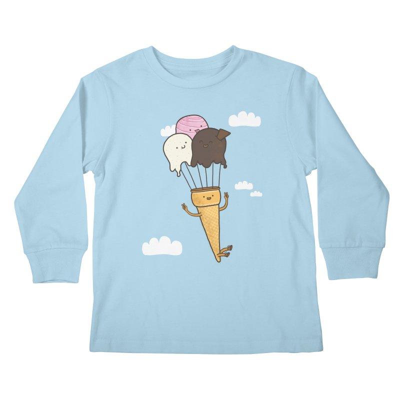 PARACUTE Kids Longsleeve T-Shirt by RiLi's Artist Shop