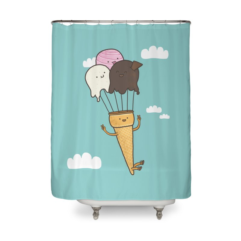 PARACUTE Home Shower Curtain by RiLi's Artist Shop