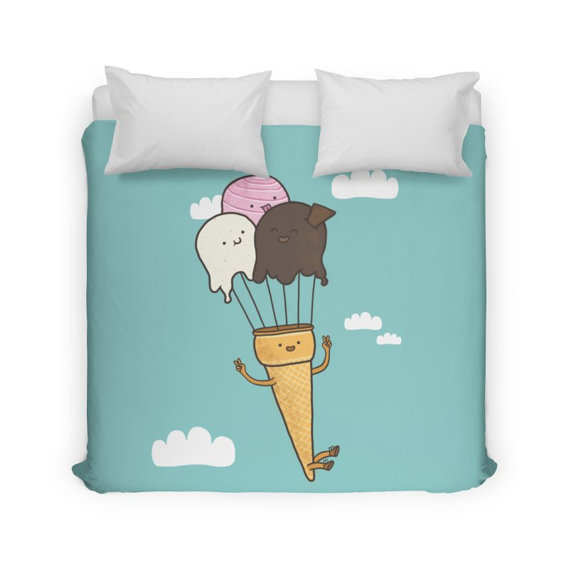 PARACUTE Home Duvet by RiLi's Artist Shop