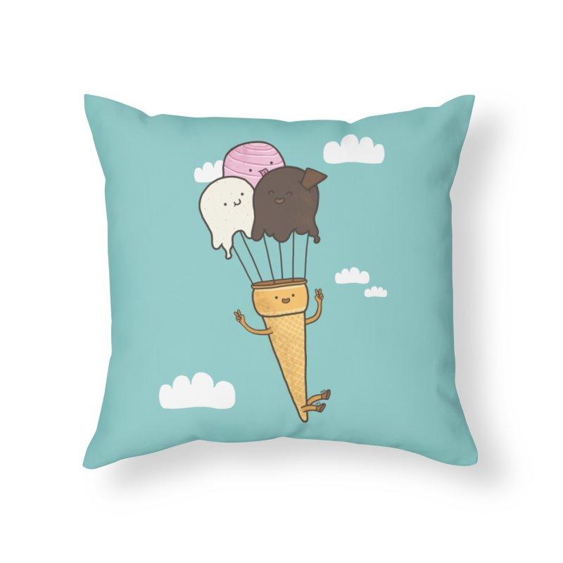 PARACUTE Home Throw Pillow by RiLi's Artist Shop