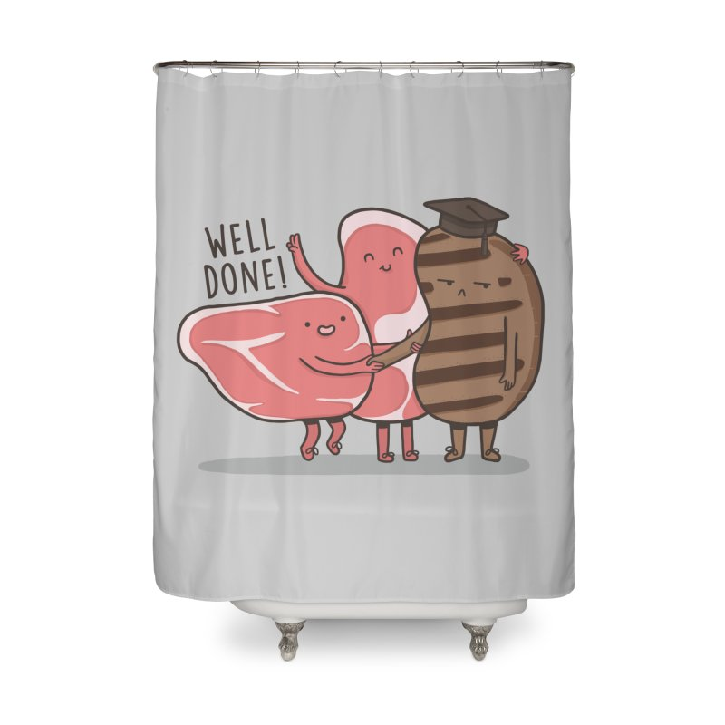 THE GRADUATE  Home Shower Curtain by RiLi's Artist Shop